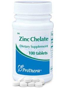 Pro Thera Zinc Chelate 20mg 100 Tabs