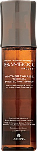 Alterna Bamboo Smooth Anti-Breakage Thermal Protectant Spray -- 4.2 fl oz - - Heat Protectant Bamboo