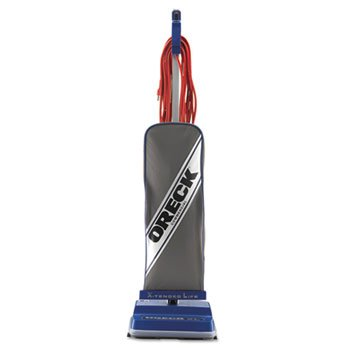Oreck Commercial XL Commercial Upright Vacuum, 120 V, Gray/Blue, 12 1/2 X 9 1/4 X 47 3/4