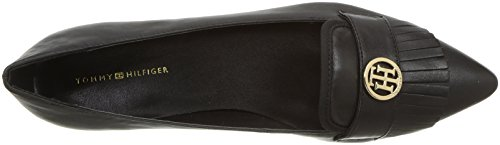 Tommy Hilfiger Womens Third Driving Style Mocassino Nero