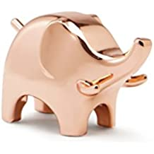 Umbra Anigram Ring Holder, Elephant, Copper