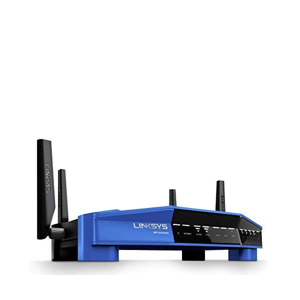 Linksys WRT3200ACM Dual-Band Open Source Router for Home (Tri-Stream Fast Wireless Wi-Fi Router, MU-MIMO Gigabit…