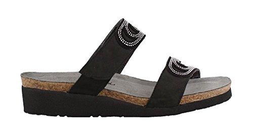 Slide Sandals Naot Black Ainsley Women's tqEPn