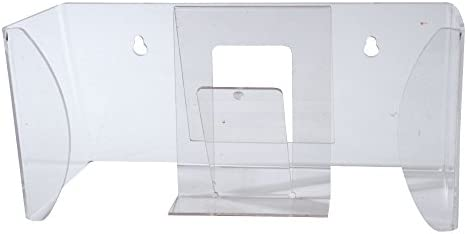Handschuhspender-Box aus Acryl, Handschuhboxhalter, Handschuhspender-Halterung, Handschuhhalter-Einmalhandschuhe