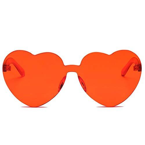 Coeur Mode Intégrées Forme La Couleur Lunettes Femmes De Uv A Trydoit À Pour Soleil Avec En nI0x6Xqw8q