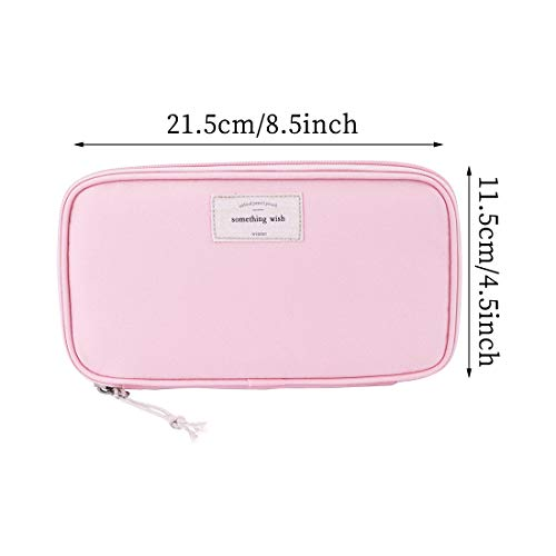 6983a6b042f9 iSuperb Large Capacity Waterproof Oxford Pencil Case Stationery ...