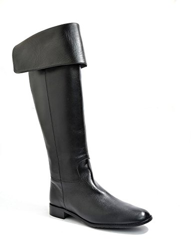 Eye Women's Knee Leather and Suede Riding Boots J 8 Black 98A5Vb