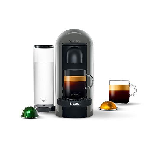 Nespresso VertuoPlus Coffee and Espresso Machine by Breville, Grey