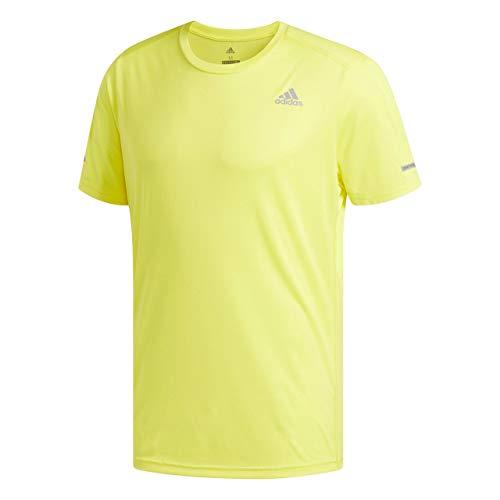 Homme Tee Run shock F18 shirt T T Adidas M Jaune PFqxRf