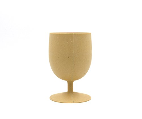 EcoSouLife - Bamboo Eco Goblet Set Almond - 4 Piece(s)
