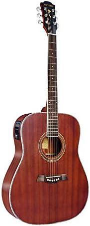 軽やかで安定したギター バレルピアノのフルサペリエレクトリックボックスギターフォークアコースティックギター初心者 持ち運びや収納に便利です (色 : Natural, Size : 41 inches)