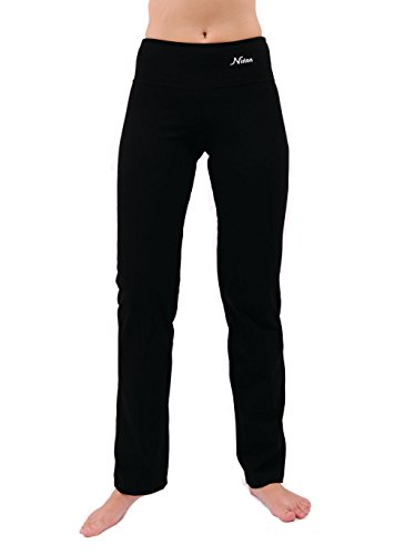 Yoga Pants For Women Best Black Leggings straight leg 32
