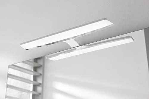 5700K Luz para espejo del ba/ño L/ámpara de espejo Aplique de Ba/ño 49,3CM 6W potencia L/ámpara de ba/ño ARMONY LED LED de alta calidad Color Blanco