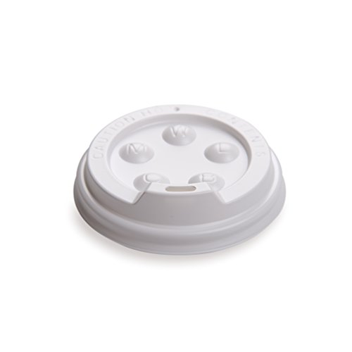 White Lids ounces Coffee count