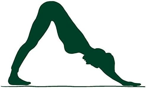 Amazon.com: HBARSCI - Adhesivo de vinilo para yoga con ...