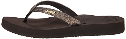 Star Reef Cushion bronze Marron Flip flop Femme gOUnAPRO