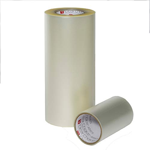 Rtape at65 Clear Choice Vinyl Film Outdoor Vinyl Application Tape Various Sizes x 300 Meters Roll (12'' x 300 Meters)