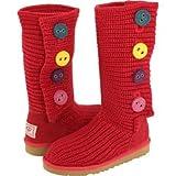 UGG Australia Cardy II Jester Red 4 Kid Boots