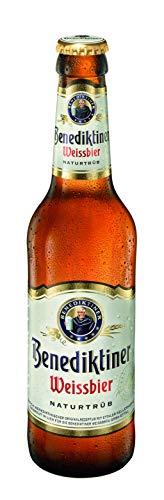 Cerveza Benediktiner Weissbier - Botella 330 ml - 24 Pack