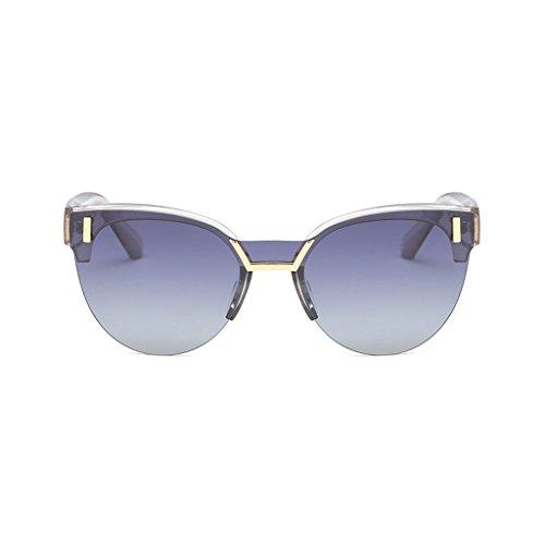 Decoración Outdoor de Sol Mirror UV Visor Personality Fashion Frame Sun Driver Anti Half Gafas 1wT8Pqxq