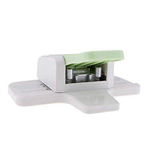 Baoblaze Craft Punch Paper Border Corner Edge Punch Shaper Cutter Card Scrapbook Tools Embossing Paper Cutter - B