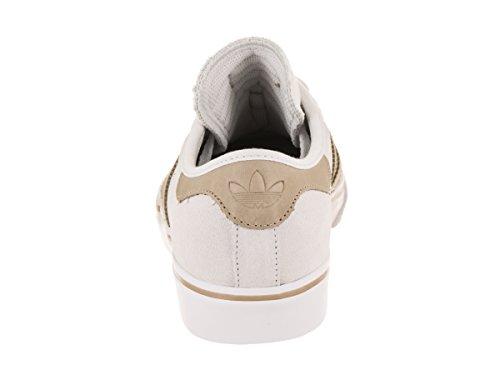 Adidas Original Mens Adi-lätthet Premiere Mode Gymnastiksko Kristall Vit / Hampa / Ftwr Vit