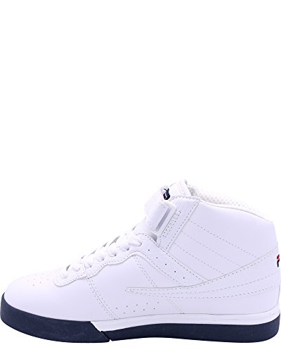 Fila Heren Valc 13 Mid Cro Sneakers, Wit / Navyred, 7 Wit / Navy / Rood