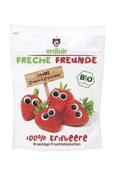 erdbä r Freche Freunde Bio Freche Freunde Erdbeere (6 x 12 gr) erdbär GmbH