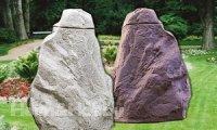 Regentonne Regensammler Falkenstein granitrot ca. 220 Liter