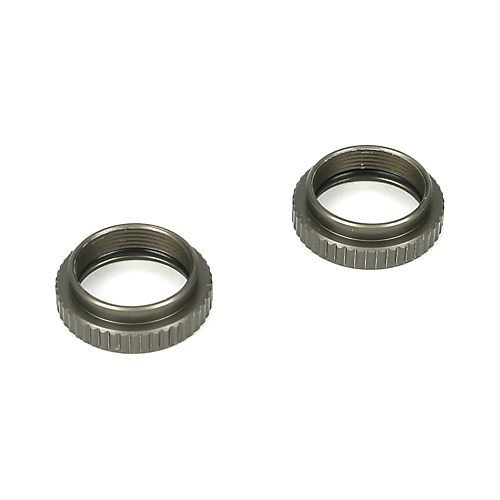 Losi LOSB2908 Shock Collars, Aluminum (2): TEN