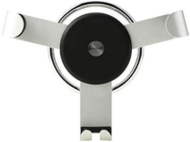 車の電話ホルダー、車の普遍的な重力の出口の運行ブラケットY型の金属の空気調節の電話ホールダー (色 : ブラック)
