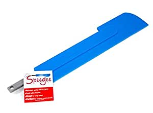 Speegee (Blue) the Spatula Squeegee, Reinvented Silicone Spatula - Spread Frosting, Scrape Pots & More