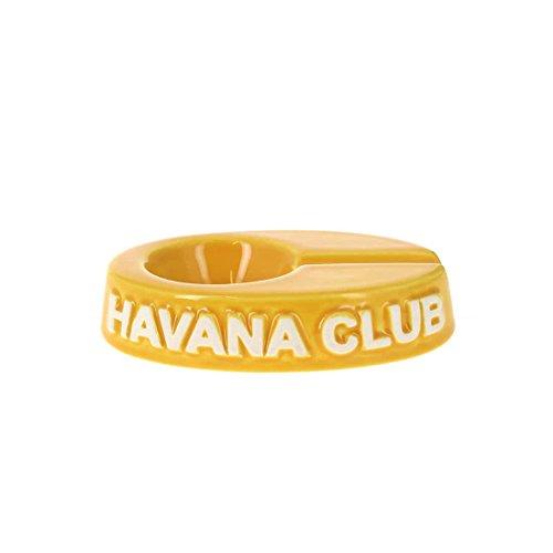 - Havana Club yellow chico ceramic cigar ash tray