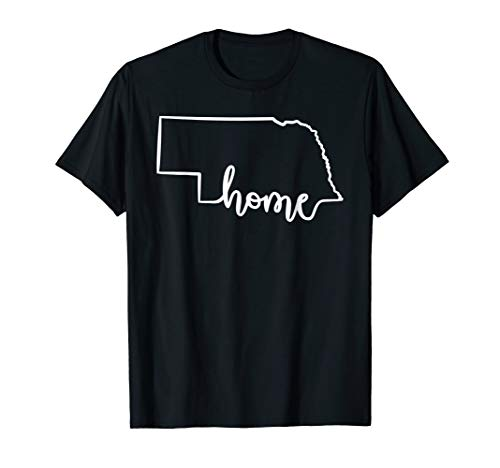 Cute Nebraska Home T-Shirt - Cool NE Midwesterner Tee]()