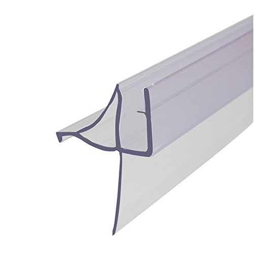 Frameless Glass Shower Door Seal,Used as Shower Door Gasket,36 Inch Long,Transparent by Goodyo