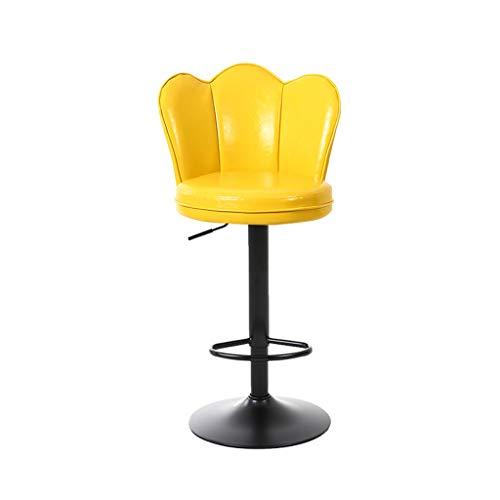 - Lxn Bar Chairs Kitchen Breakfast Bar Stool Pub Chair Counter 360° Swivel Adjustable Height Soft PUleather Cushion Seat Max Load 400 Ibs Comfortable Backrest - 1PCS