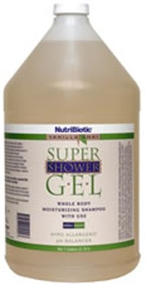 Nutribiotic Super Shower Gel, Vanilla Chai, 128 Fluid Ounce by Nutrabolics