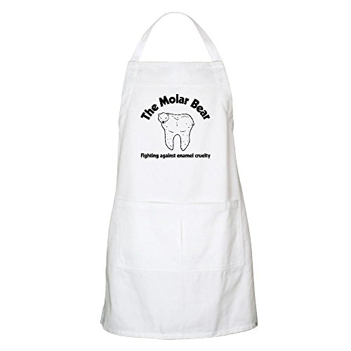 - CafePress The Molar Bear Kitchen Apron with Pockets, Grilling Apron, Baking Apron