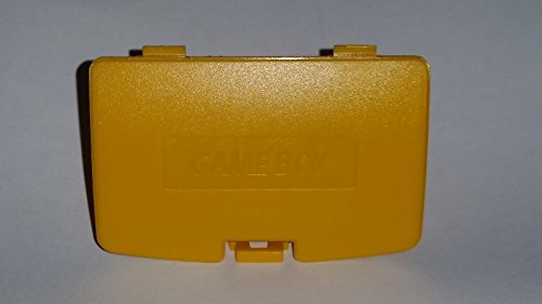 Battery Color Cover Boy Game (Gametown® Battery Door Cover Repair Replacement for Nintendo Gameboy Color GBC Console Color Yellow)