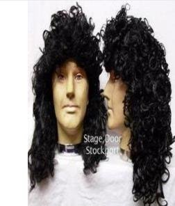 70s Glam Rock Wig- In Style of Brian May (peluca)