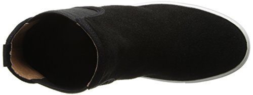 Bettye By Bettye Muller Womens Brazen Fashion Sneaker Nero In Pelle Scamosciata