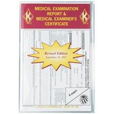 J. J. Keller 6147 Medical Examination Report with Certificate -