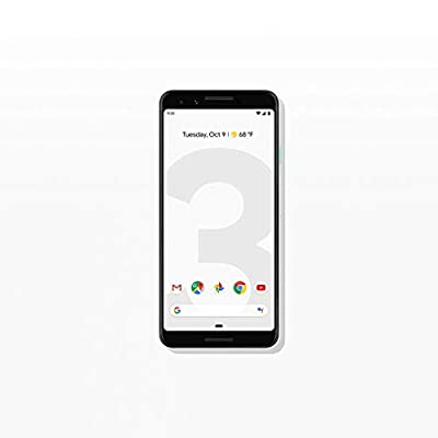 Google - Pixel 3 with Memory Cell Phone (Unlocked) (Renewed)