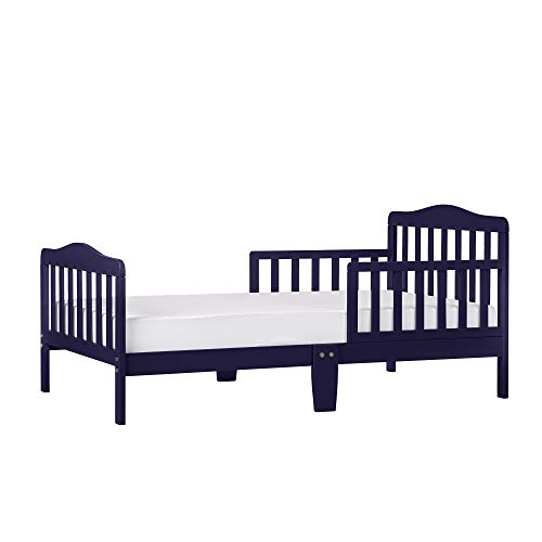 (Dream On Me Classic Design Toddler Bed, Navy )