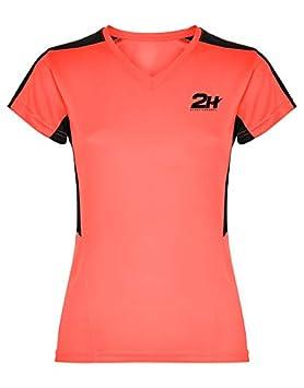 Camiseta Mujer técnica de pádel 2H Coral VIXIA, M: Amazon.es ...