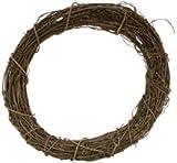 Bulk Buy: Darice Grapevine Wreath 12'' Bulk GPV12 (3-Pack)
