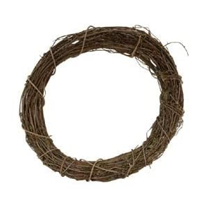 "Bulk Buy: Darice Grapevine Wreath 12"" Bulk GPV12 (3-Pack) 13"