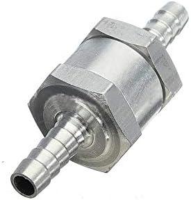 Akozon Einweg-Rückschlagventil 8 mm 5/16 aus Aluminiumlegierung