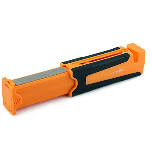 Vansee❤❤Portable Multi-Function Sharpener Quick Edge Sharpener for Kitchen and Outdoors ()