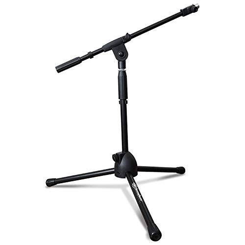 AxcessAbles MS-101L Low Profile Microphone Stand with Boom ()